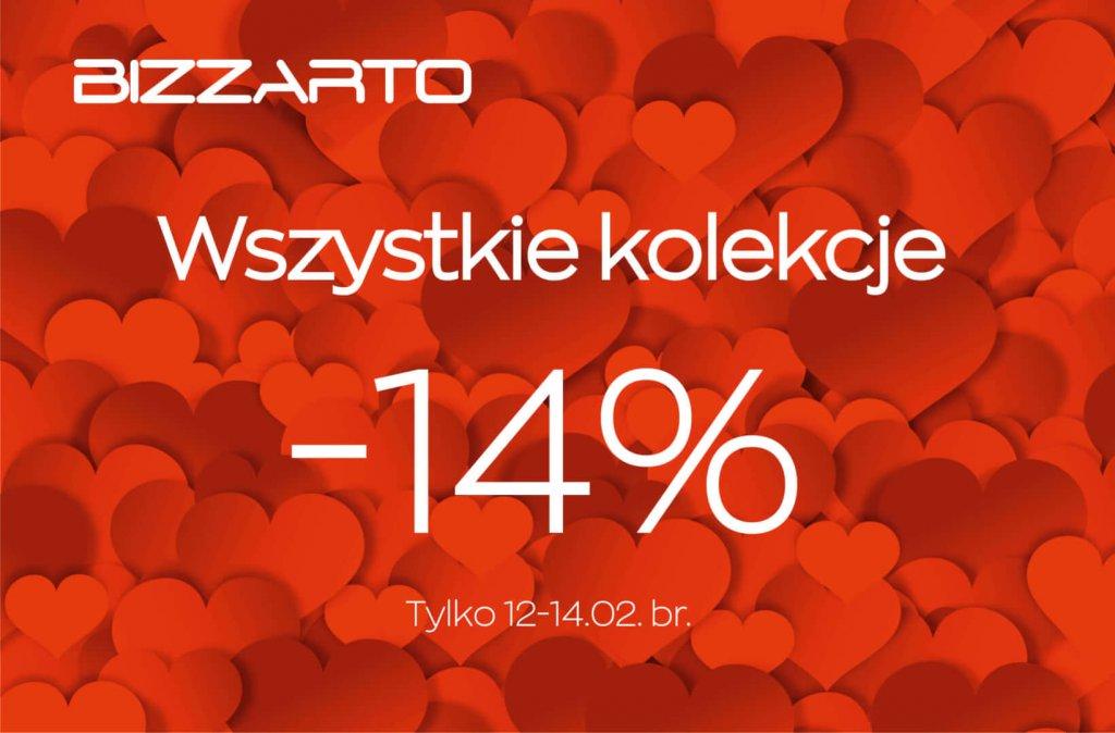 -14 % na Wszystko marki Bizzarto