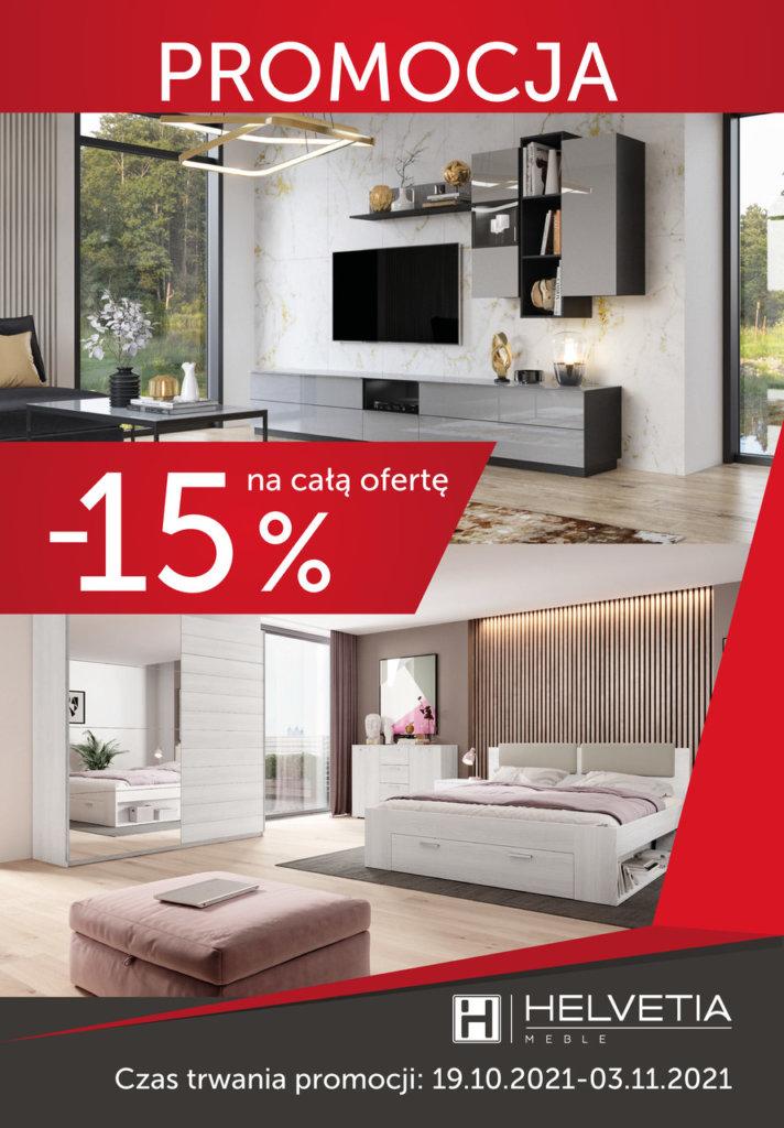Jesienna promocja z marką Helvetia  -15% na wszystkie kolekcje